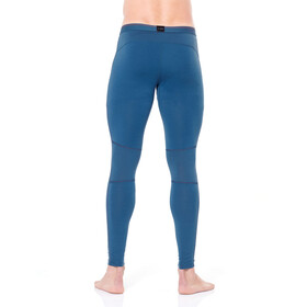 Icebreaker 200 Zone Leggings Men Prussian Blue/Chili Red